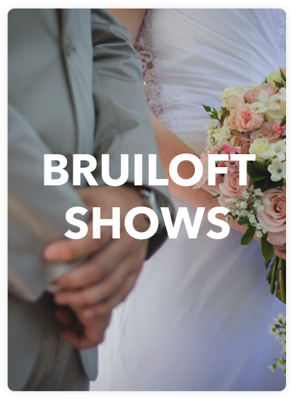 bruiloft shows